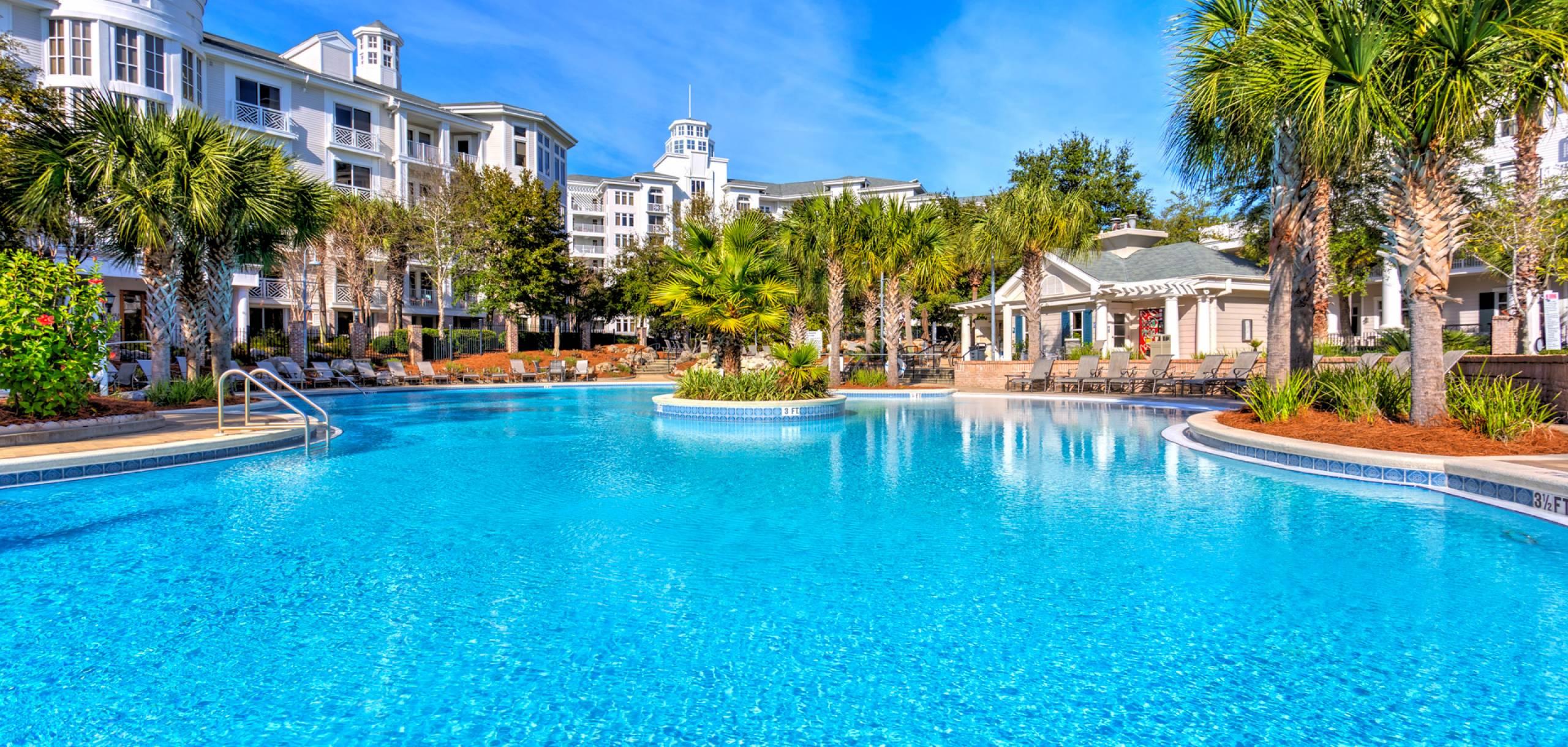 Destin resort pool